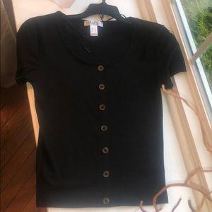 Mande Black Fitted Shirt